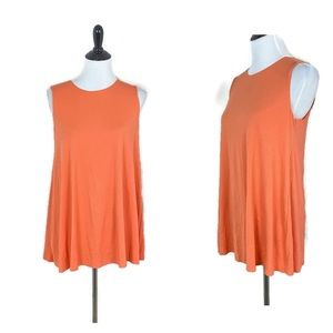 Wolford Pure Swing Top Flare blouse orange